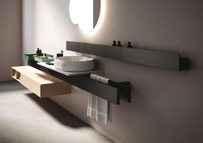 Sistema de mobiliario para baño «Rigo» de Agape. | Diseño ...