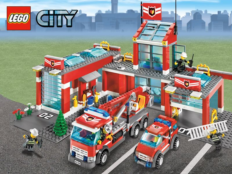 Ideas For Lego City Fire Fun Zone