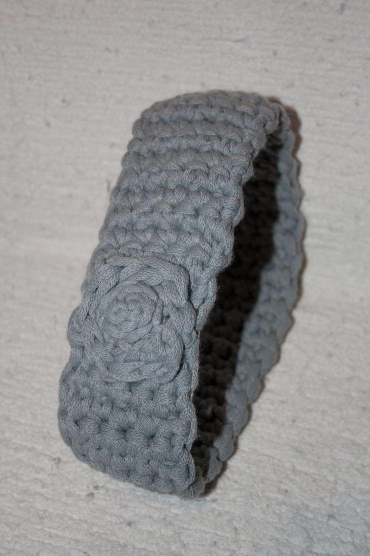 Diadema de ganchillo laboreando diadema de ganchillo - Diademas de ganchillo ...