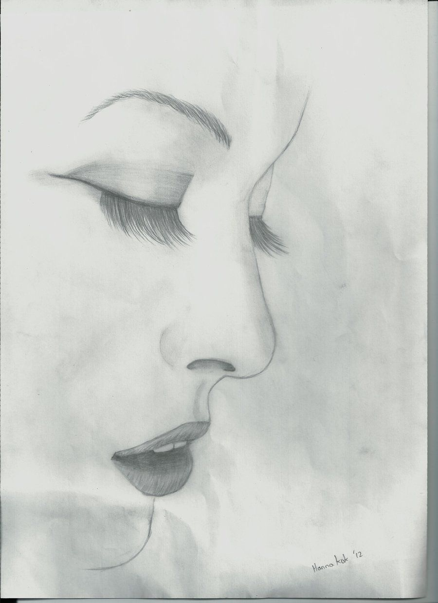 sketched face with eyes closed google search gifts pinterest