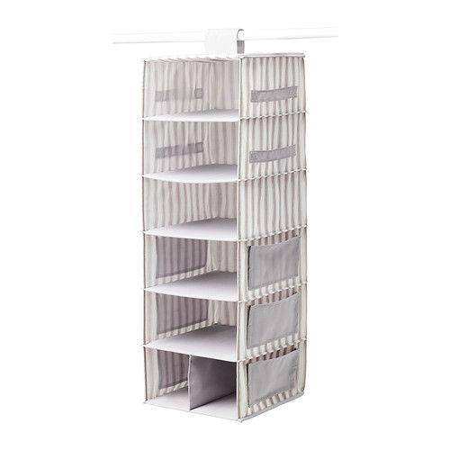svira h ngeaufbewahrung 7 f cher ikea seitliche taschen bieten zus tzlichen platz zum. Black Bedroom Furniture Sets. Home Design Ideas