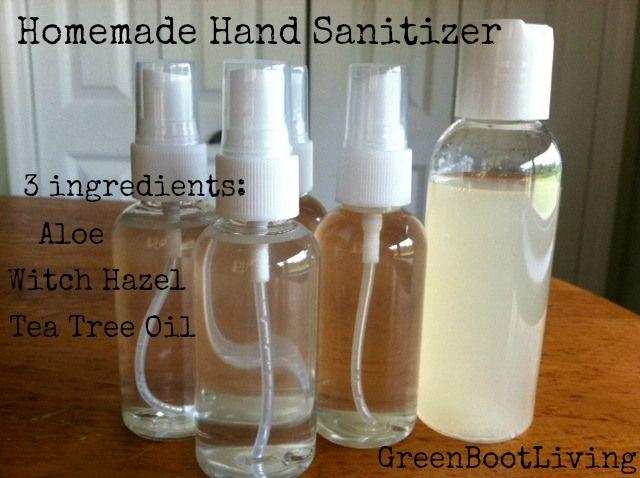 Homemade Hand Sanitizer Spray Or Gel Hand Sanitizer Diy Natural