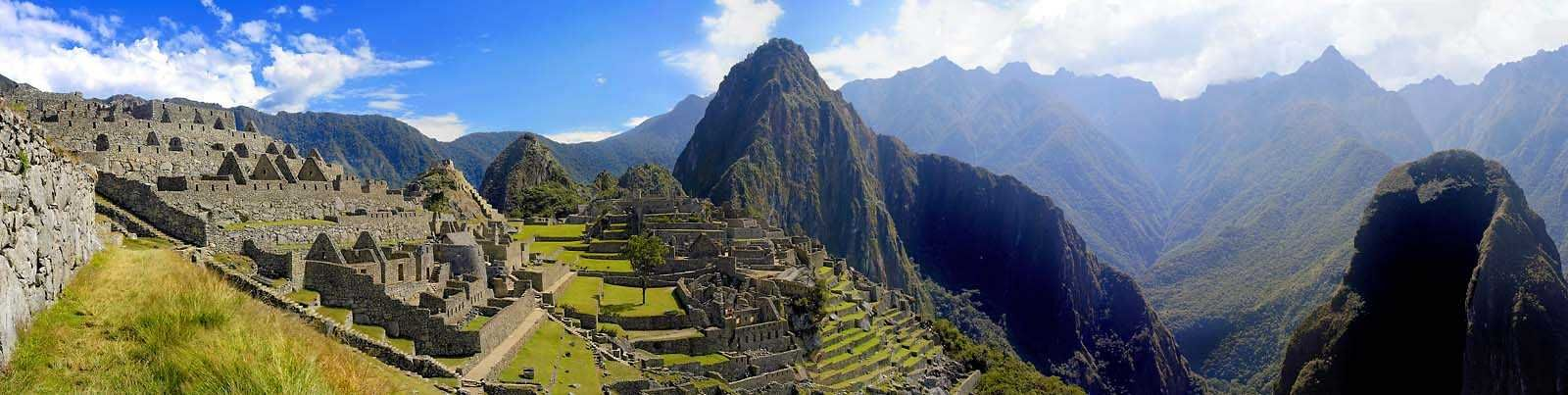 Machu Picchu Panorama View- I didn't think I'd like to go there, but it's the #1 place to go on a lot of lists, so maybe I should!