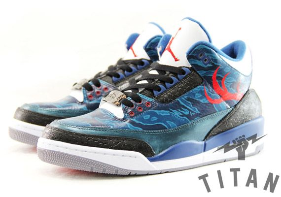 "Air Jordan III ""Titan"" Customs by SBTG"