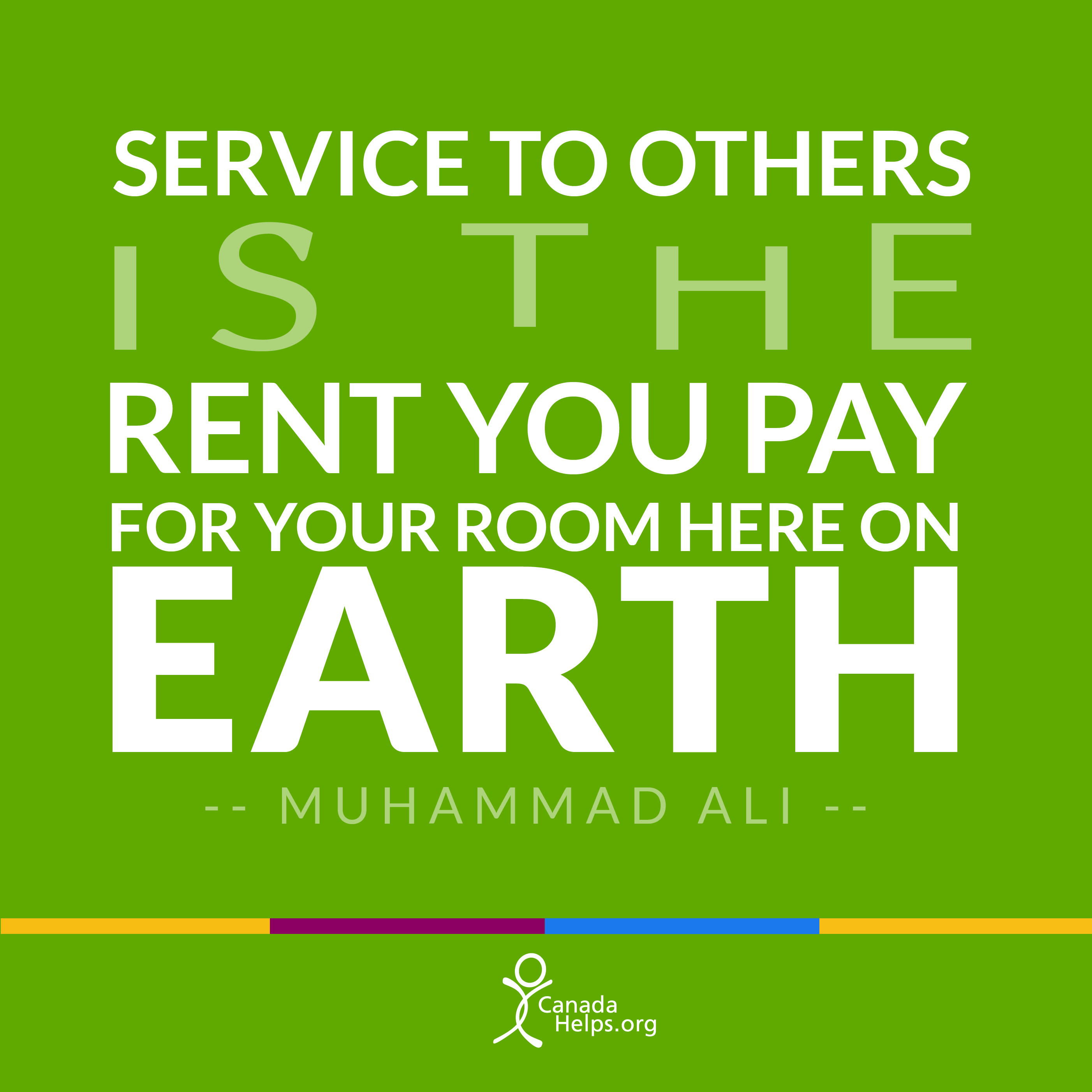 Rent Quotes Service To Others Is The Rent You Pay For Your Room Here On Earth