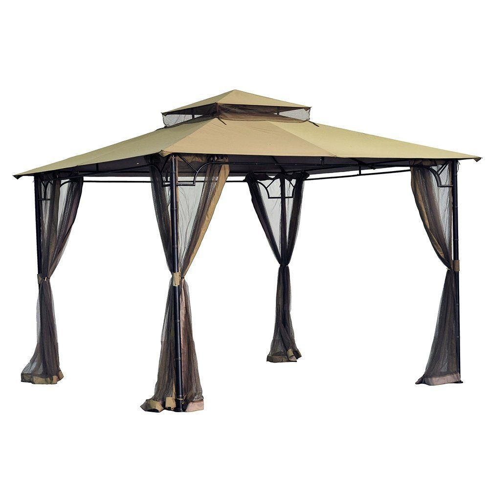 Amazon Com Sunjoy Replacement Canopy Set For 10x10 Bamboo Gazebo