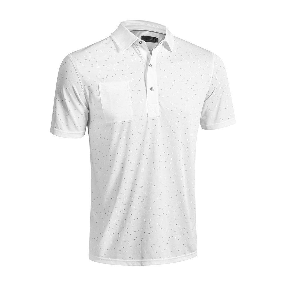 2016 Mizuno Digital Jacquard Polo Shirt White Medium You Can Find