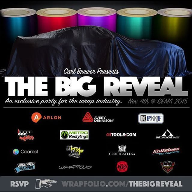 The Big Reveal at SEMA in November is coming up fast wrap pros!   Promoting Wrappers Around the World   Are You On The Map?   WEB: http://ift.tt/1fC1vAh FB: http://ift.tt/1D7uQxf TWITTER: http://www.twitter.com/wrappermapper  #wrappermapper #worldwraps #wrappers #carwraps #carwrap #vehicle #vehiclewrap #sportscar #exotic #exoticcar #exoticcars #chrome #chromewraps #chrome #3Mcertified #AveryDennison #hexis #arlon #3M #orafol #apa #knifelesstechsystems #carporn #hexis