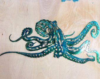 Custom Metal Seahorse Wall Art Teal by SCHROCKMETALFX on Etsy & Custom Metal Seahorse Wall Art - Teal | Custom metal and Seahorses