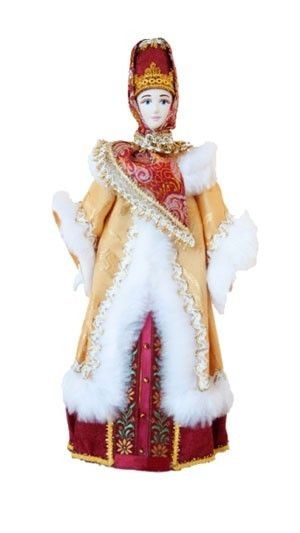 $30.00 Handmade. Traditional Russian Costume Porcelain Doll.  Each doll represents a unique Russian costume. Unique. Collectible.