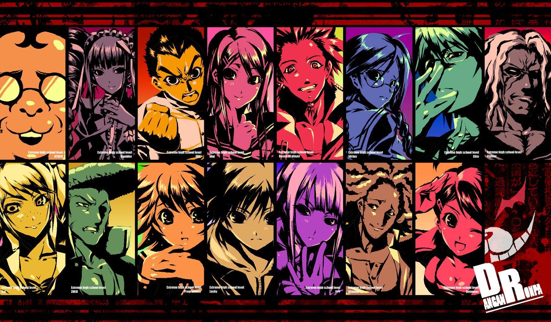 dangan ronpa Danganronpa, Danganronpa game, Anime