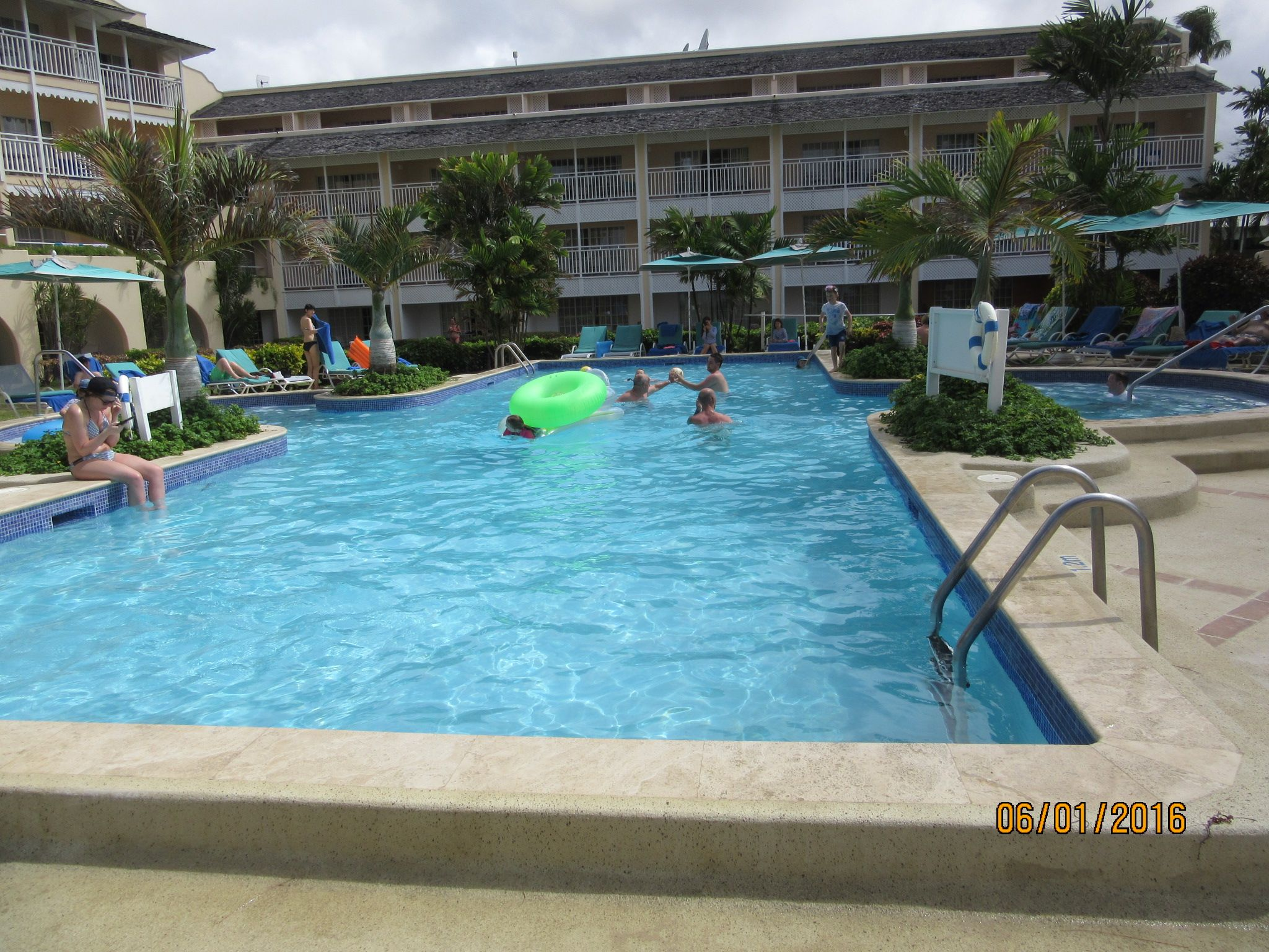 The Main Pool At Turtle Beach Barbados Myvacationlady