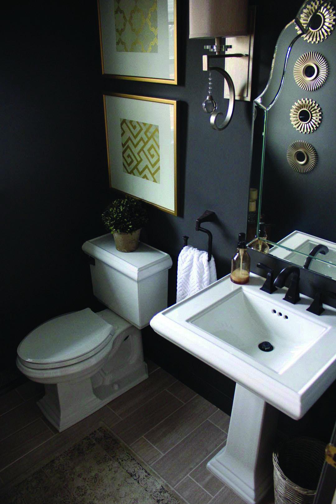 Good Guest Half Bathroom Decorating Ideas Only In Ny Homes Inc Powder Room Paint Powder Room Small Black Powder Room
