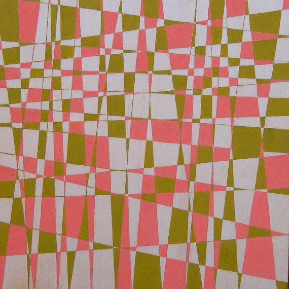 mid century pattern