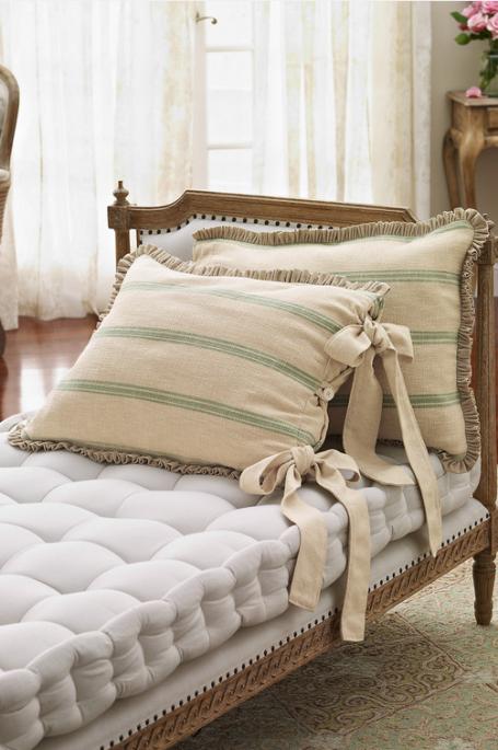 Lisette Stripe Sham From Soft Surroundings Lounge