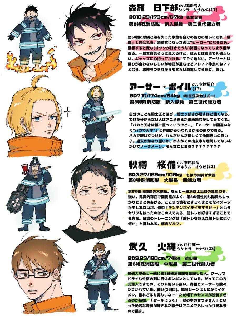 消防 アニメ 炎 々 ノ 無料 隊