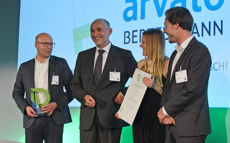 Arvato systems adds the 2018 digital leader award to its
