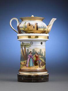 Veilleuses -Theieres Porcelain Teapots on Pinterest | Rococo, Porcela ...