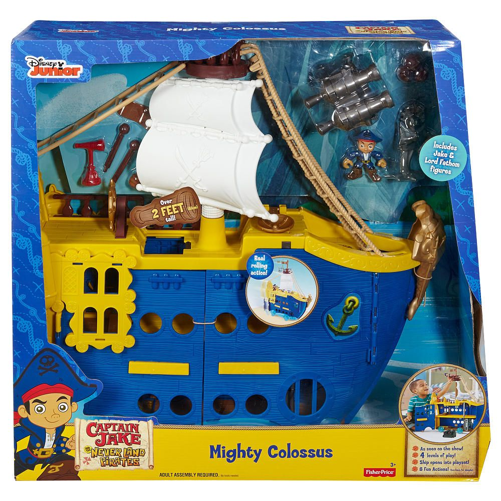 Fisher-Price - Disney Jake and the Never Land Pirates - Mighty ...