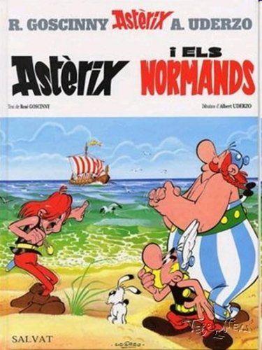 Asterix I Els Normands En Catala Comic Book Covers Comics Comic Covers