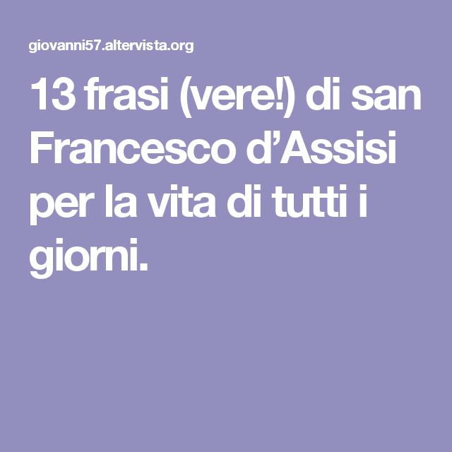 Frasi Di San Francesco Sulla Vita.Pin Su Bigiotteria