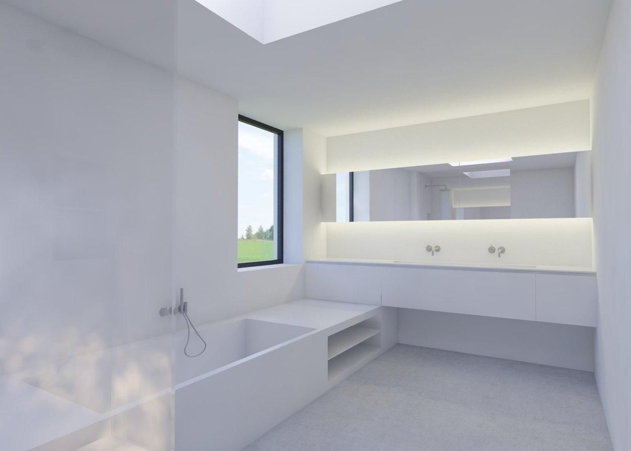 Badkamer door Daan Beugels   Nieuwbouw   Pinterest   Bath light ...