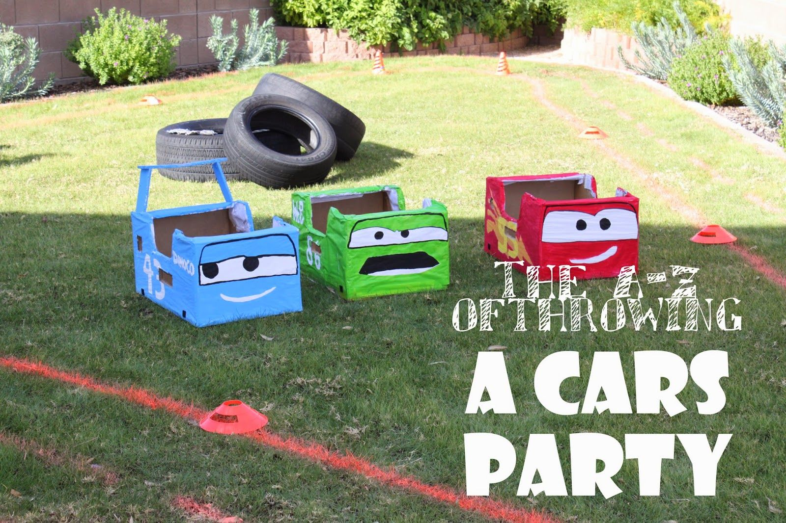 The A Z Of Throwing A Cars Party Cars Birthday Parties