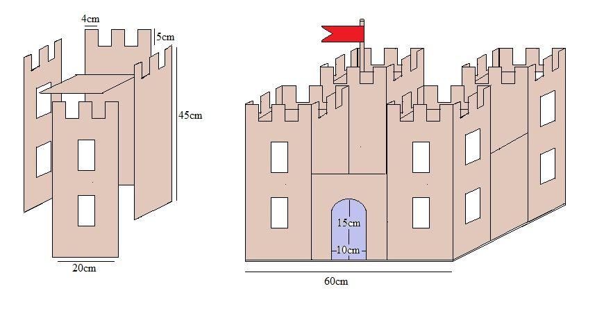 поделка замок из картона своими руками схемы шаблоны пытаетесь изменить мир