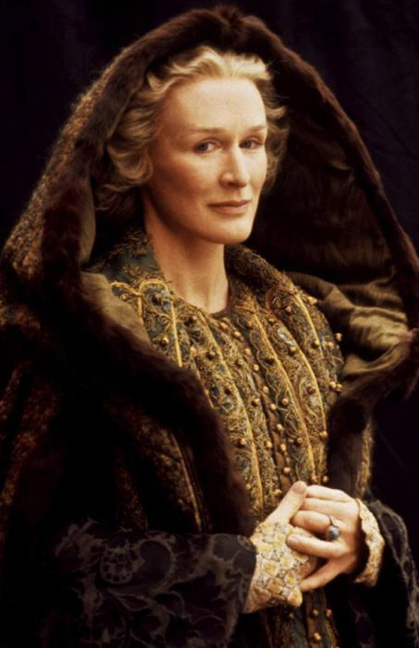 "Glenn Close - ""Hamlet"" (1990) - Costume designer ..."