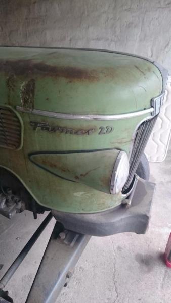 typ 228 1 ohne papiere traktor f hrt balkenm hwerk vorhanden techn in ordnung zapfwelle. Black Bedroom Furniture Sets. Home Design Ideas