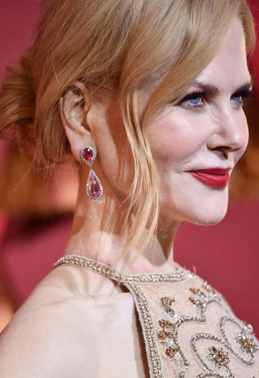 Nicole Kidmans Oscars 2017 Makeup Celebrity Beauty Pinterest