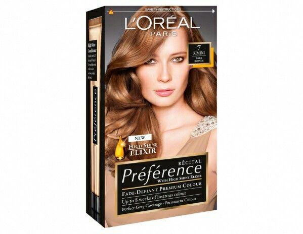L Oreal Preference In Remini Dark Blonde Honey Blonde Hair