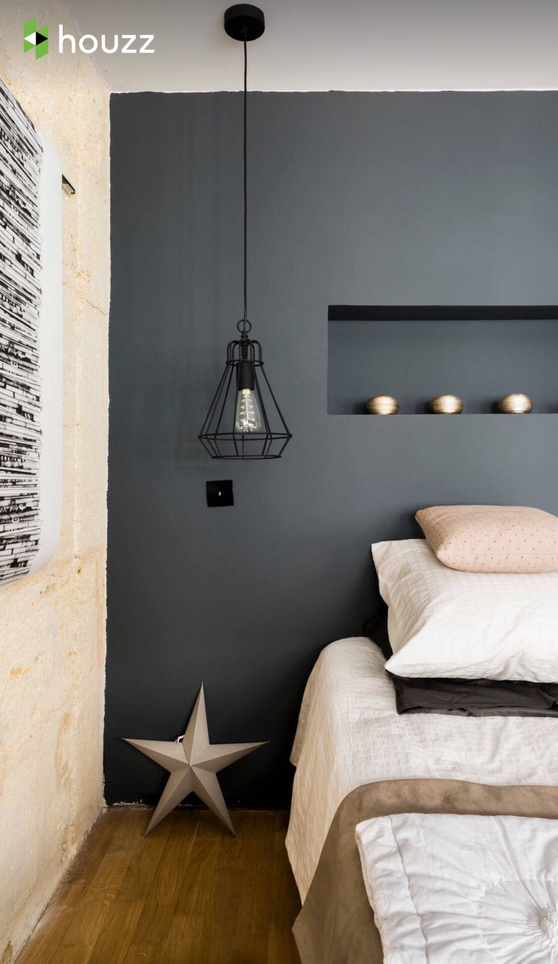 blush pink beige wood grey muurverf kleur tiener slaapkamer slaapkamerideen slaapkamer ontwerp