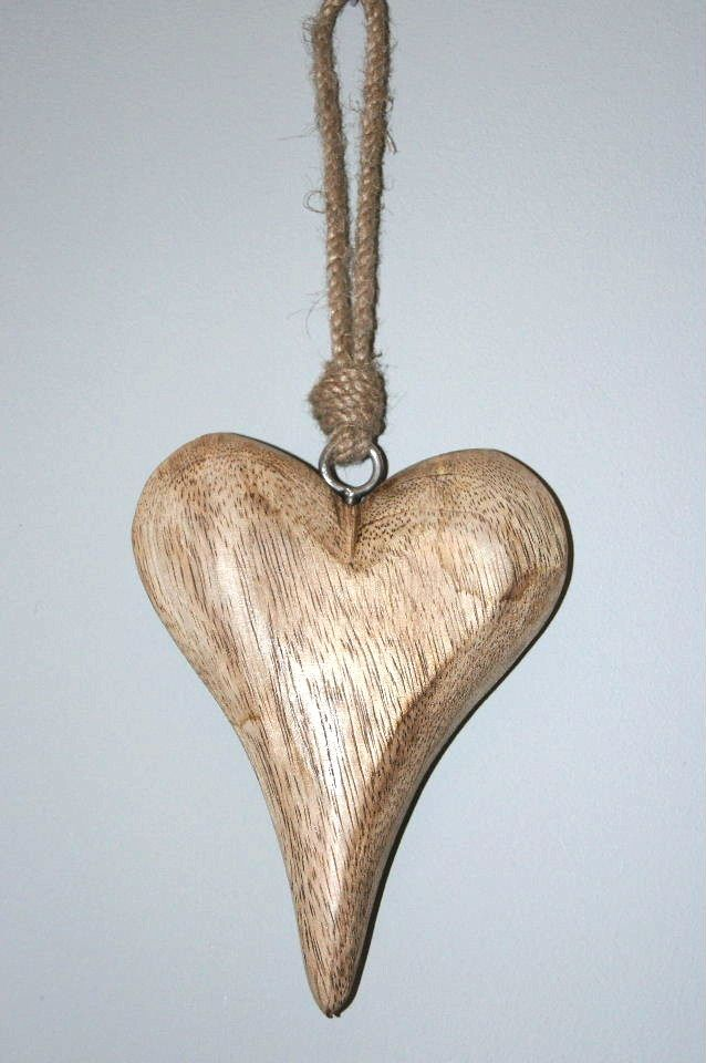 Large Wooden Hanging Heart Hearts Hanging Hearts Heart