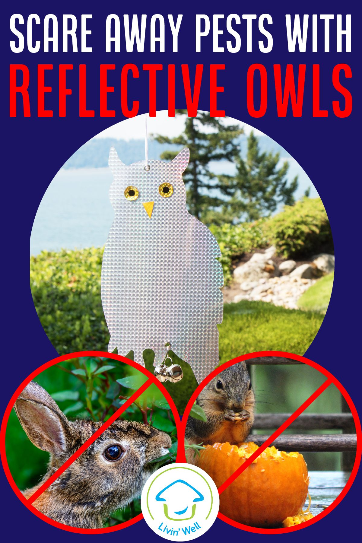 Get reflective bird diverters and bird repellent devices