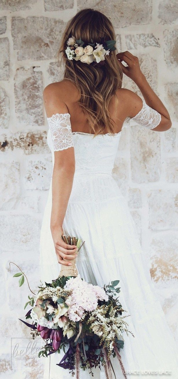 Rustic lace wedding dress   Rustic Wedding Dresses for the Sophisticated Bride  Wedding