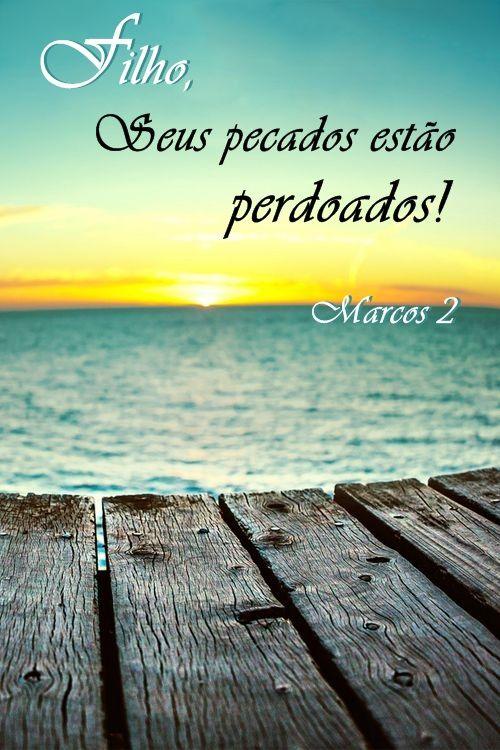 Como é bom saber que nossos pecados foram perdoados! Quando Jesus perdoa, ele também cura!