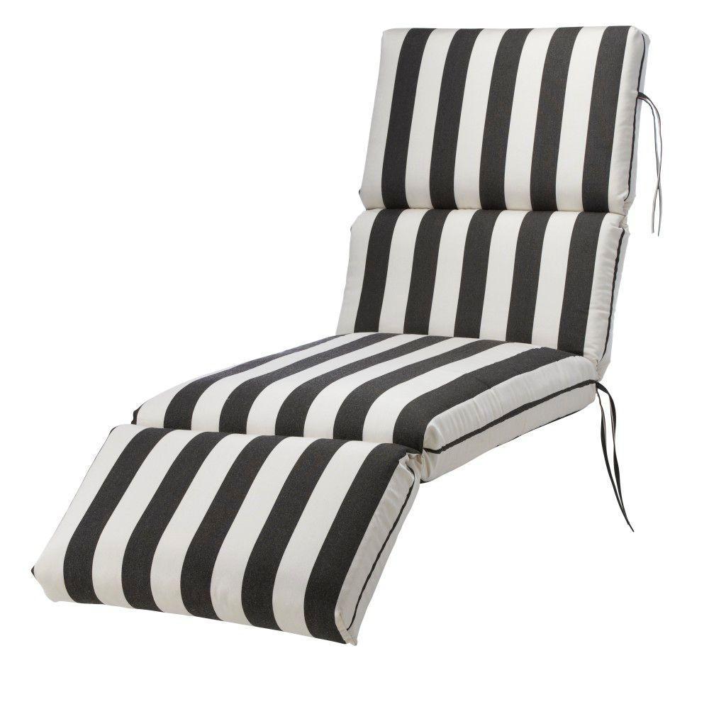 Home Decorators Collection Sunbrella Maxim Clic Outdoor Chaise Lounge Cushion