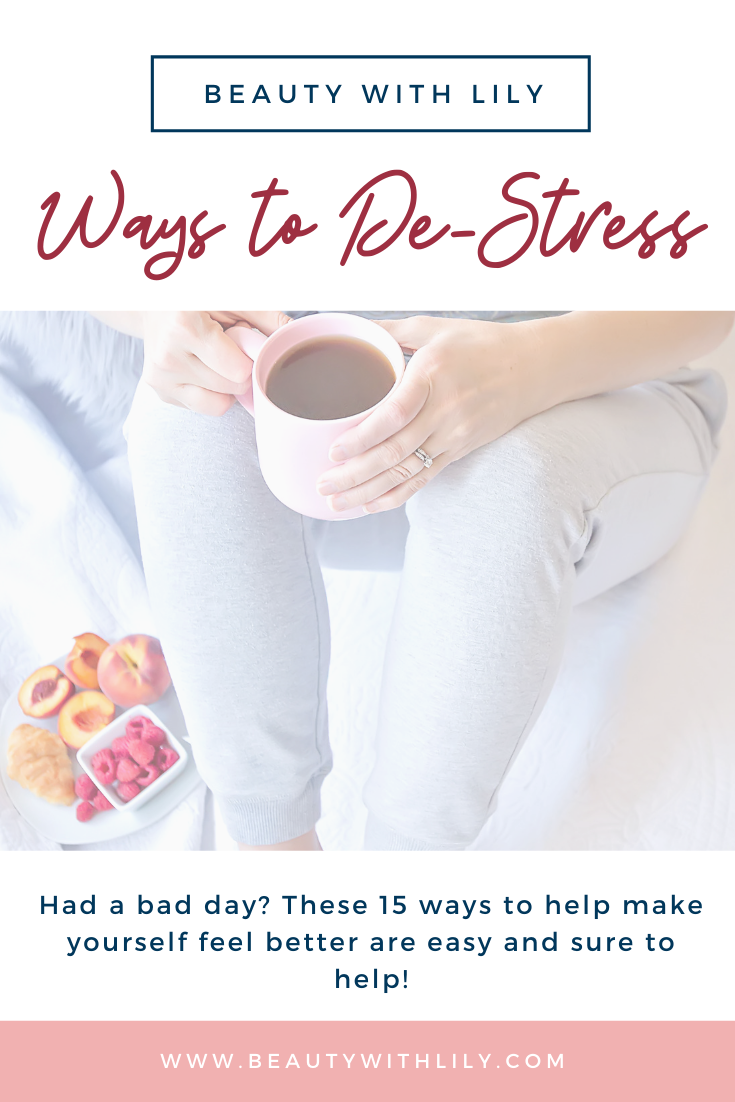 15 Ways To Make Yourself Feel Better After A Bad Day ...