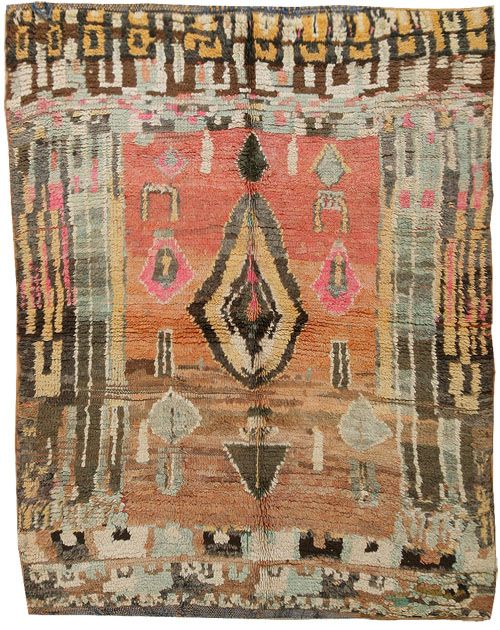 The Colors In This Vintage Moroccan Rug Are So Good. Iu0027d Love To