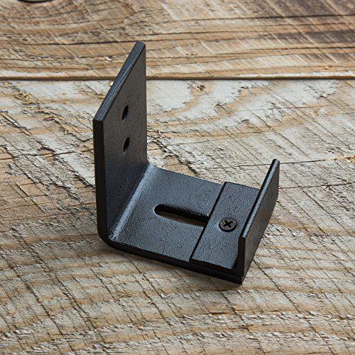 wall mount floor guide for barn door hardware powder