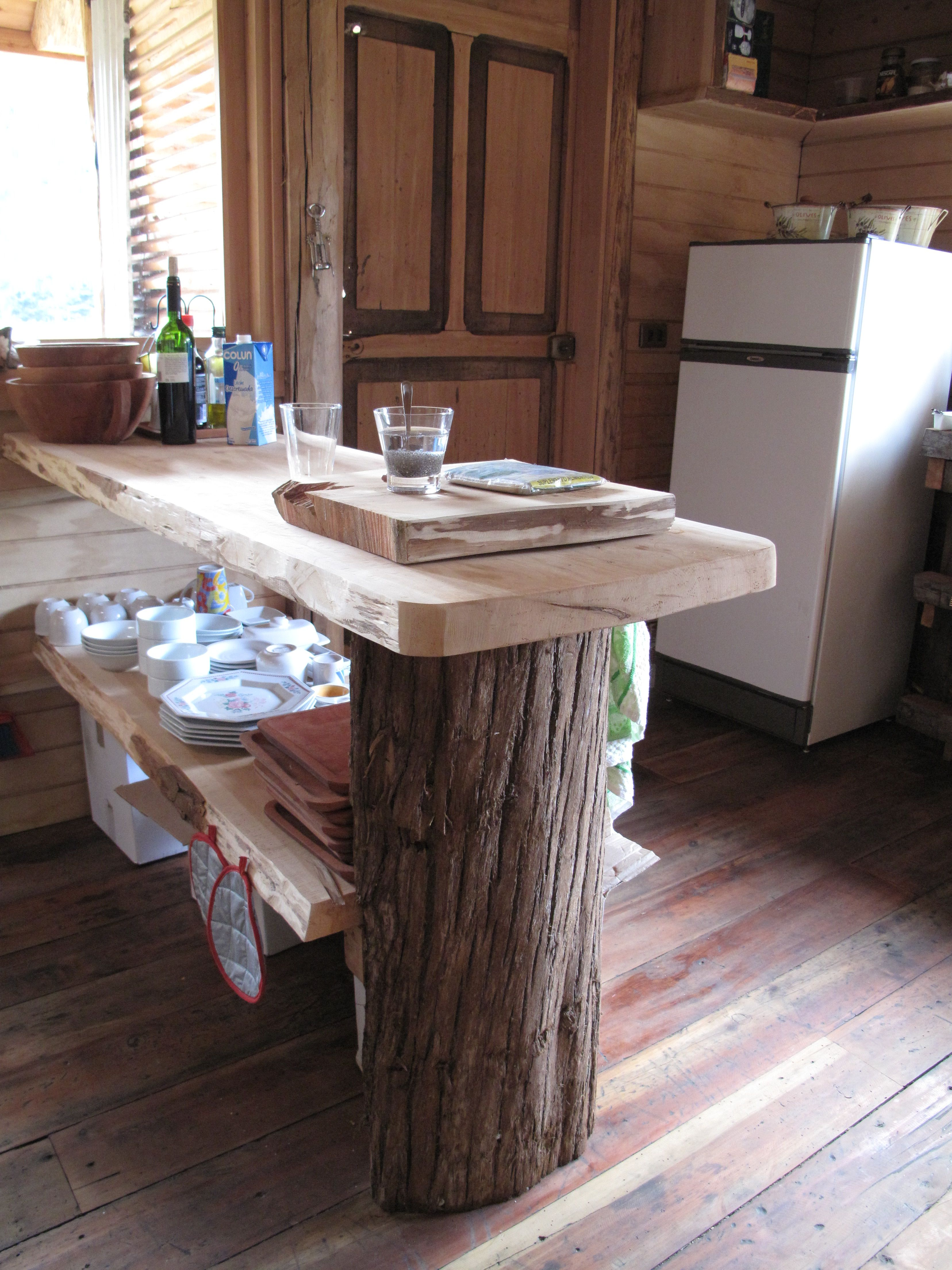 Meson de cocina mejoras para el hogar pinterest for Mesones para cocina