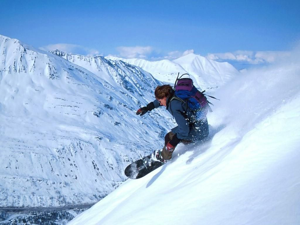 Winter Skiing Extreme Sports