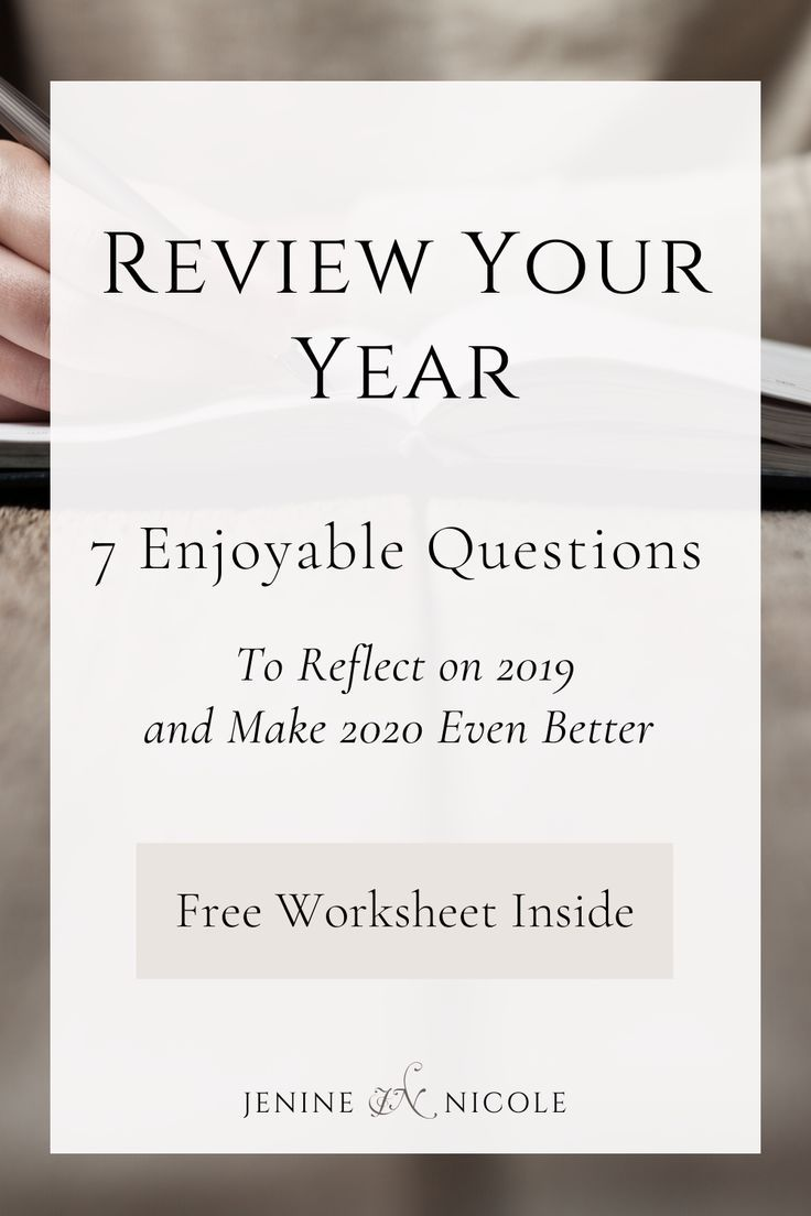 7 End of Year Reflection Questions Reflection questions
