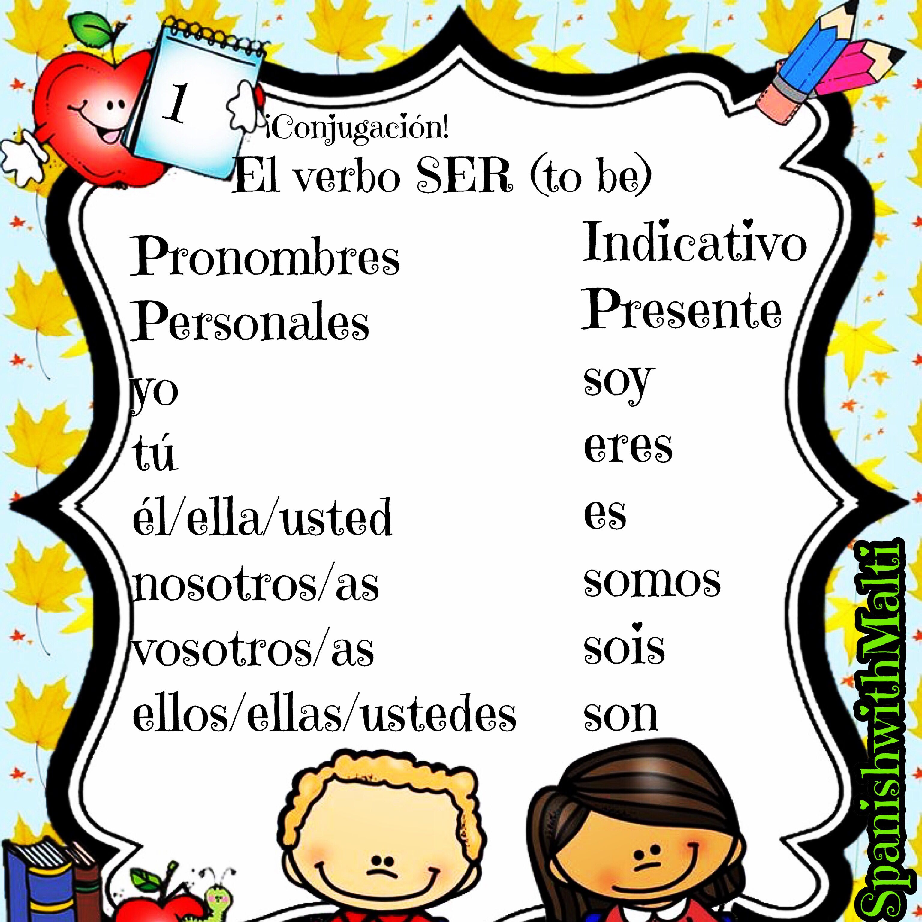 Learn How To Conjugate Spanish Verbs Spanish Verbs Learning Spanish Spanish [ 3072 x 3072 Pixel ]