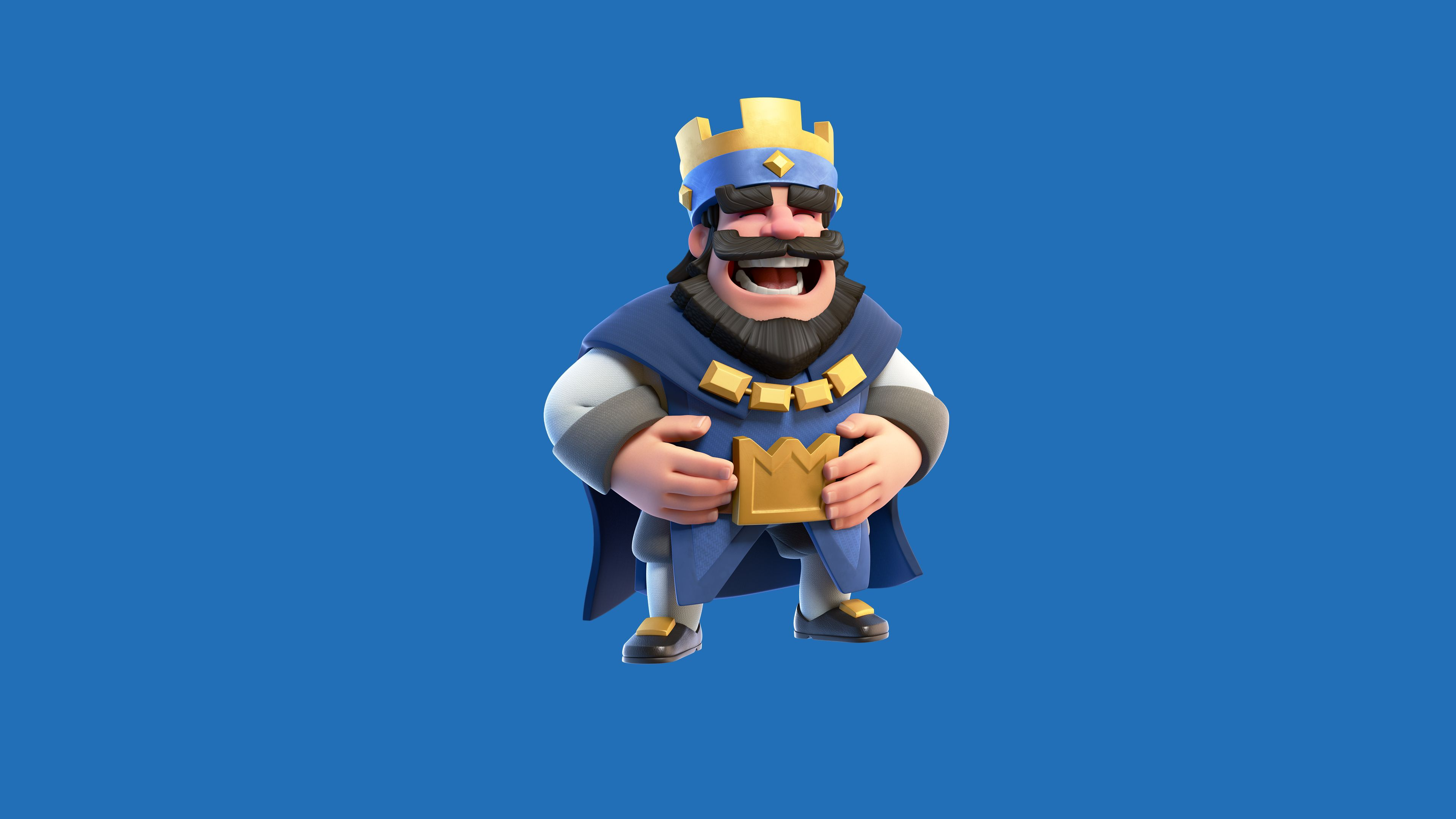 Clash Royale Blue King Supercell Wallpapers Games Wallpapers Clash Royale Wallpapers 2016 Games Wallpape Clash Royale Wallpaper Royal Wallpaper Clash Royale