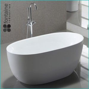 Ariana Beautiful Freestanding Round Bath Available In 1300 Or 1400 Small Compact