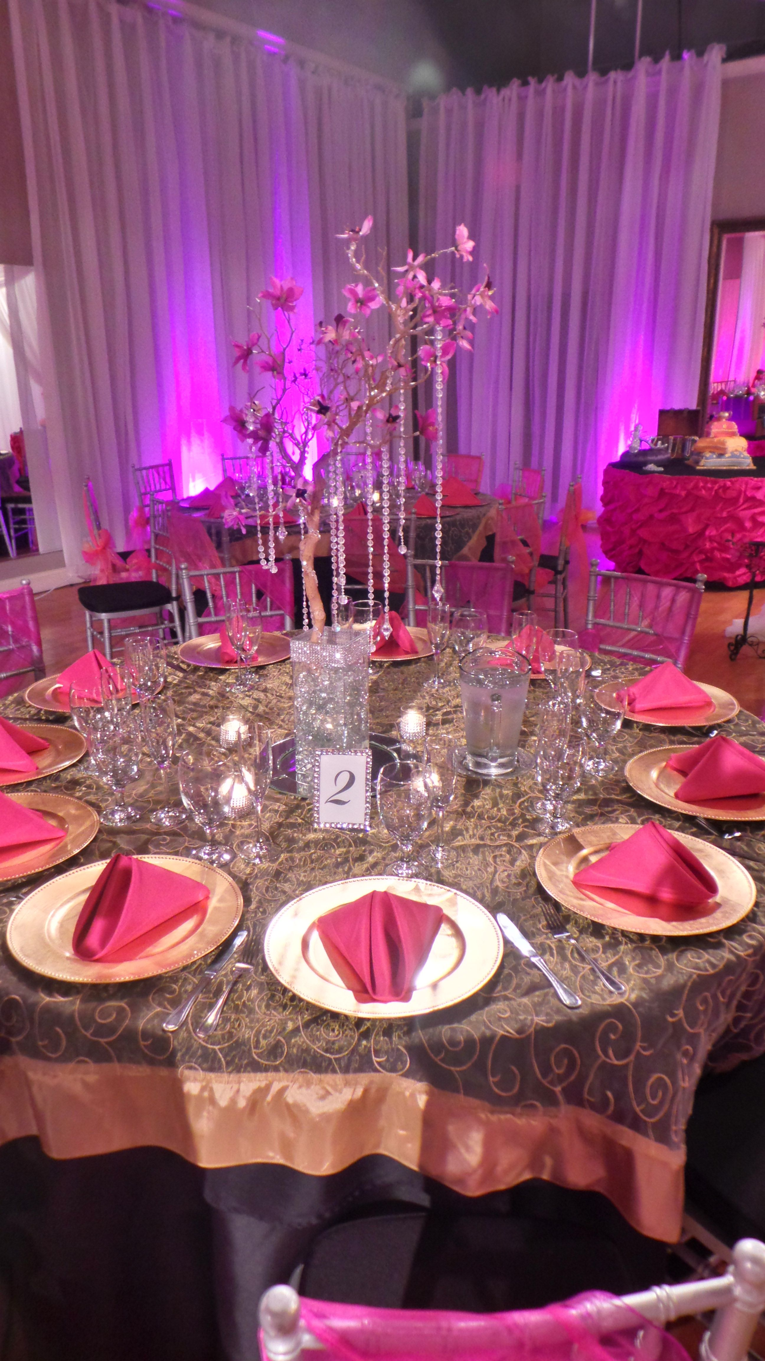 What a beautiful design at event venue the crystal ballroom weddings junglespirit Gallery
