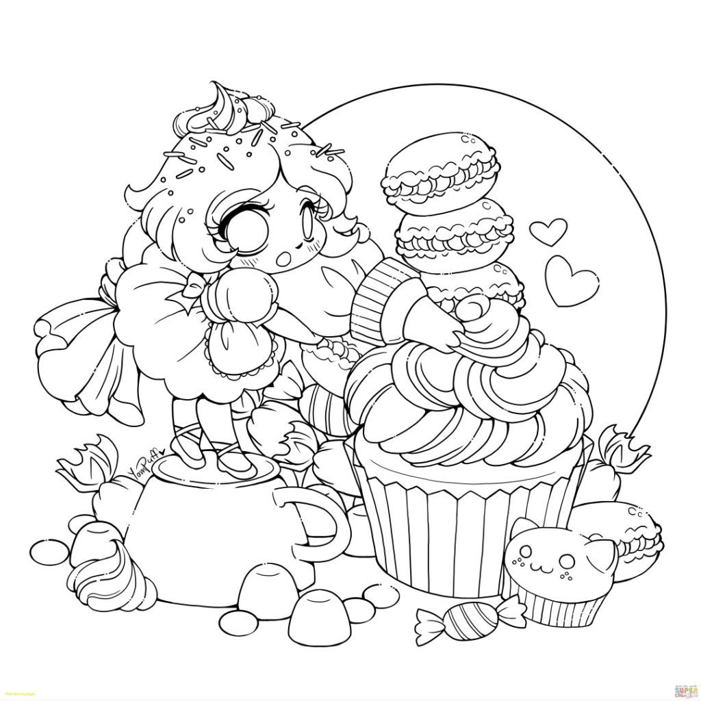 Coloring Rocks Chibi Coloring Pages Fairy Coloring Pages Unicorn Coloring Pages