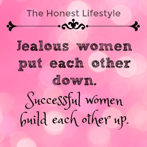 why are women jealous of each other
